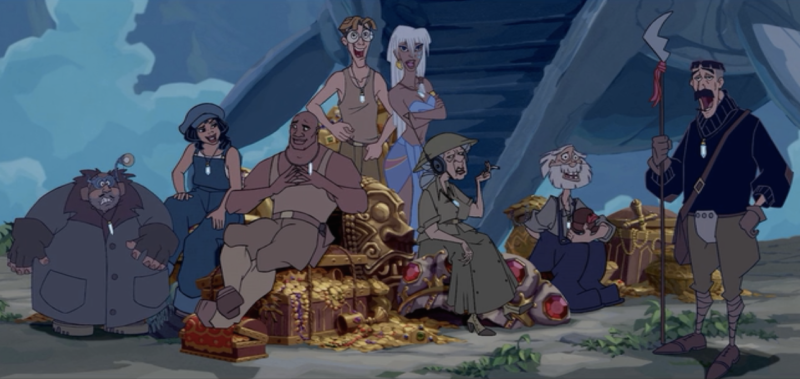 Atlantis: The Lost Empire Pics, Movie Collection