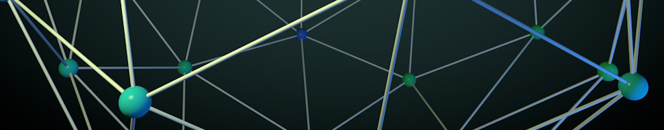 Atom Array Backgrounds, Compatible - PC, Mobile, Gadgets| 970x190 px