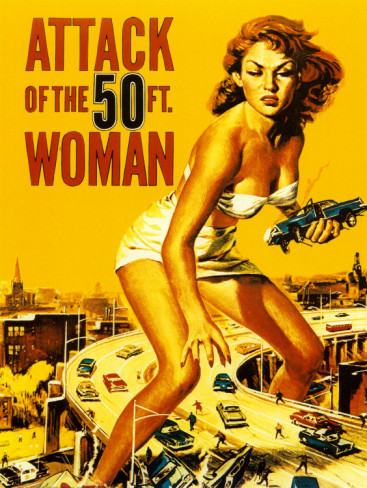 High Resolution Wallpaper | Attack Of The 50 Foot Woman 367x488 px