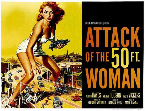 Attack Of The 50 Foot Woman Pics, Movie Collection