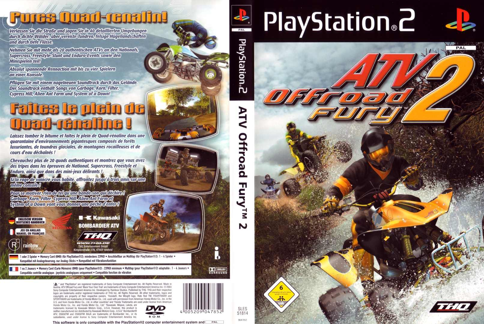 ATV Offroad Fury 2 Backgrounds, Compatible - PC, Mobile, Gadgets| 1612x1081 px