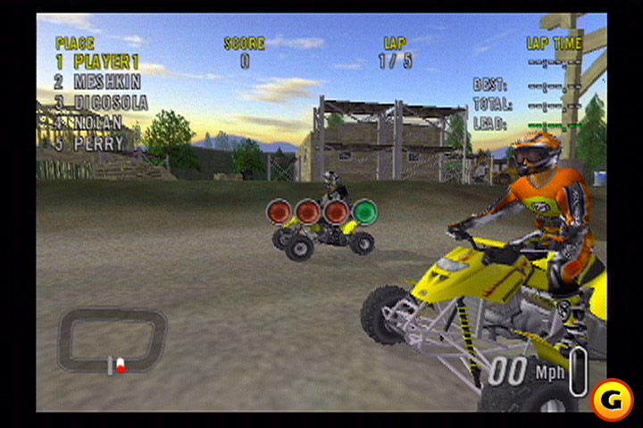 HD Quality Wallpaper | Collection: Video Game, 720x480 ATV Offroad Fury 2