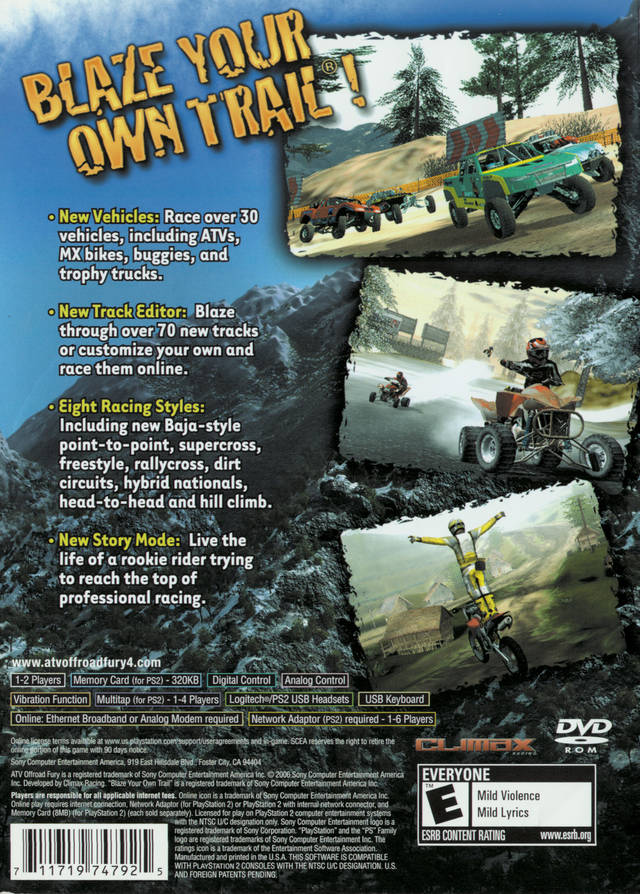 HQ ATV Offroad Fury 4 Wallpapers | File 156.27Kb
