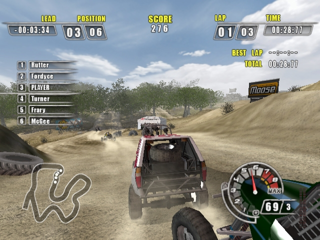 Nice wallpapers ATV Offroad Fury 4 640x480px