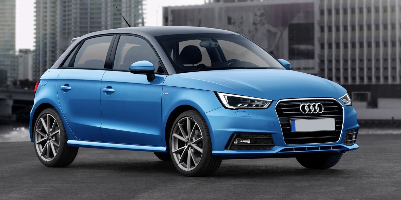 HD Quality Wallpaper | Collection: Vehicles, 1600x800 Audi A1