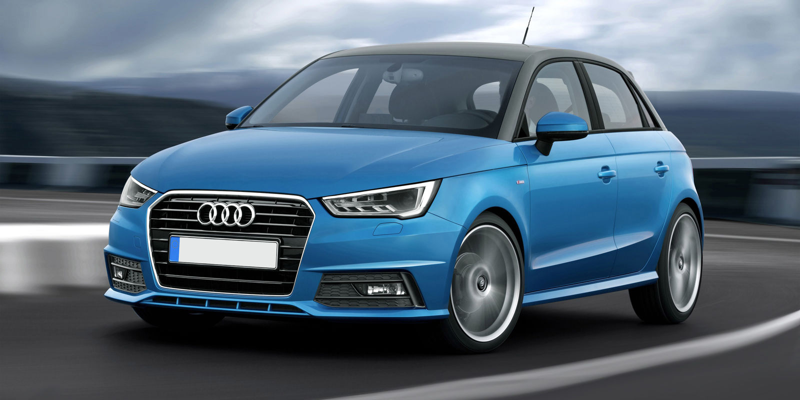 Nice wallpapers Audi A1 1600x800px