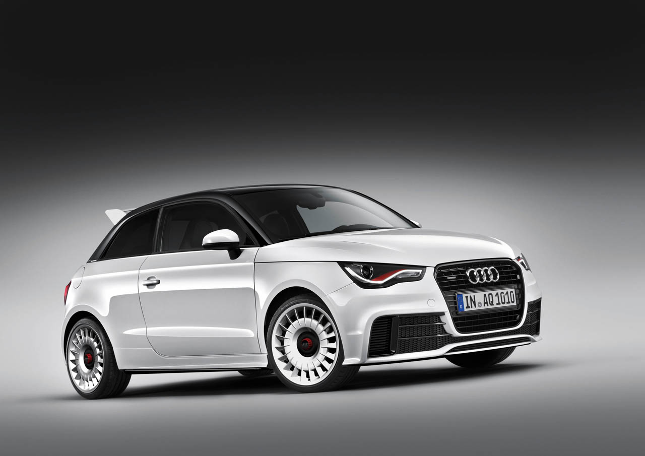 HD Quality Wallpaper | Collection: Vehicles, 1280x905 Audi A1 Quattro
