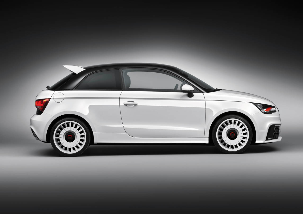 Nice Images Collection: Audi A1 Quattro Desktop Wallpapers