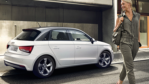 Nice Images Collection: Audi A1 Desktop Wallpapers