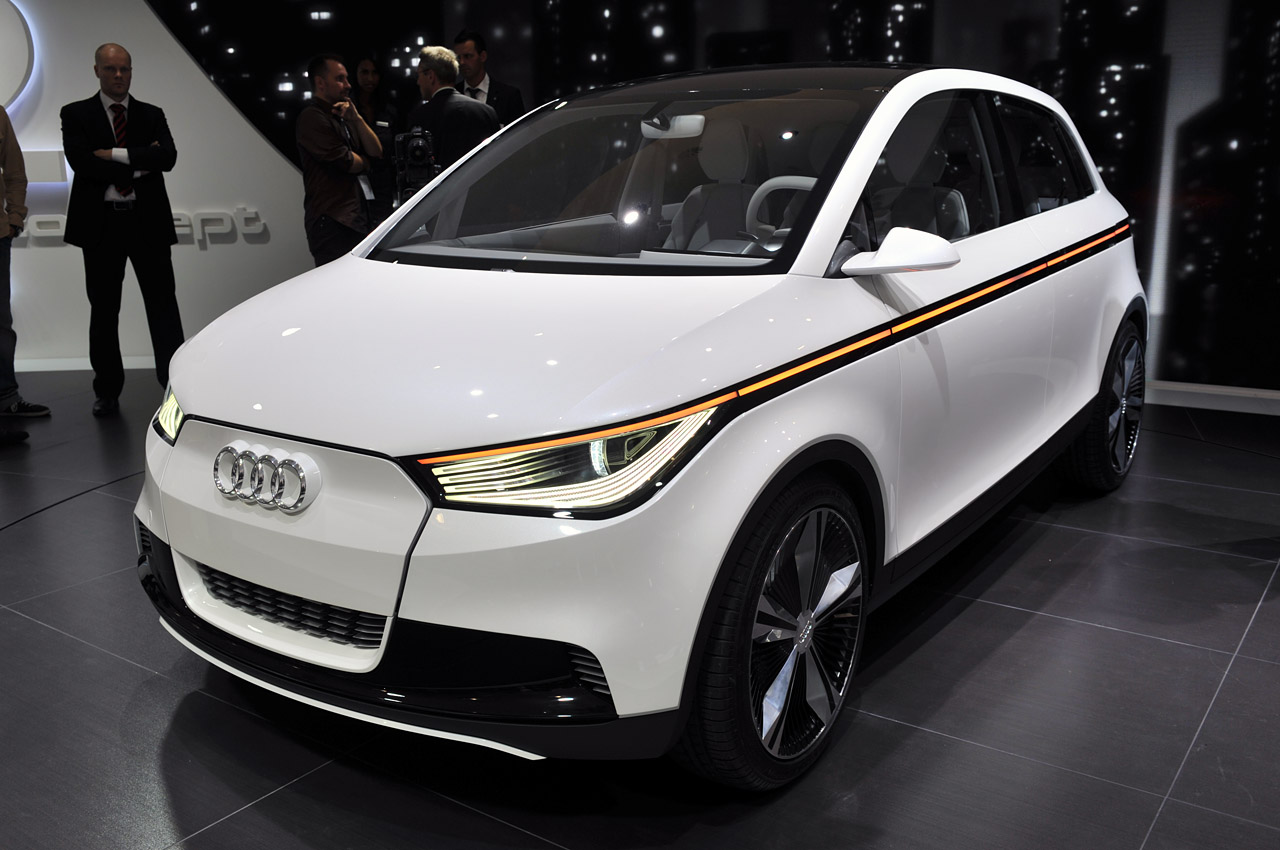 Nice Images Collection: Audi A2 Concept Desktop Wallpapers