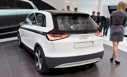 HD Quality Wallpaper | Collection: Vehicles, 429x262 Audi A2 Concept