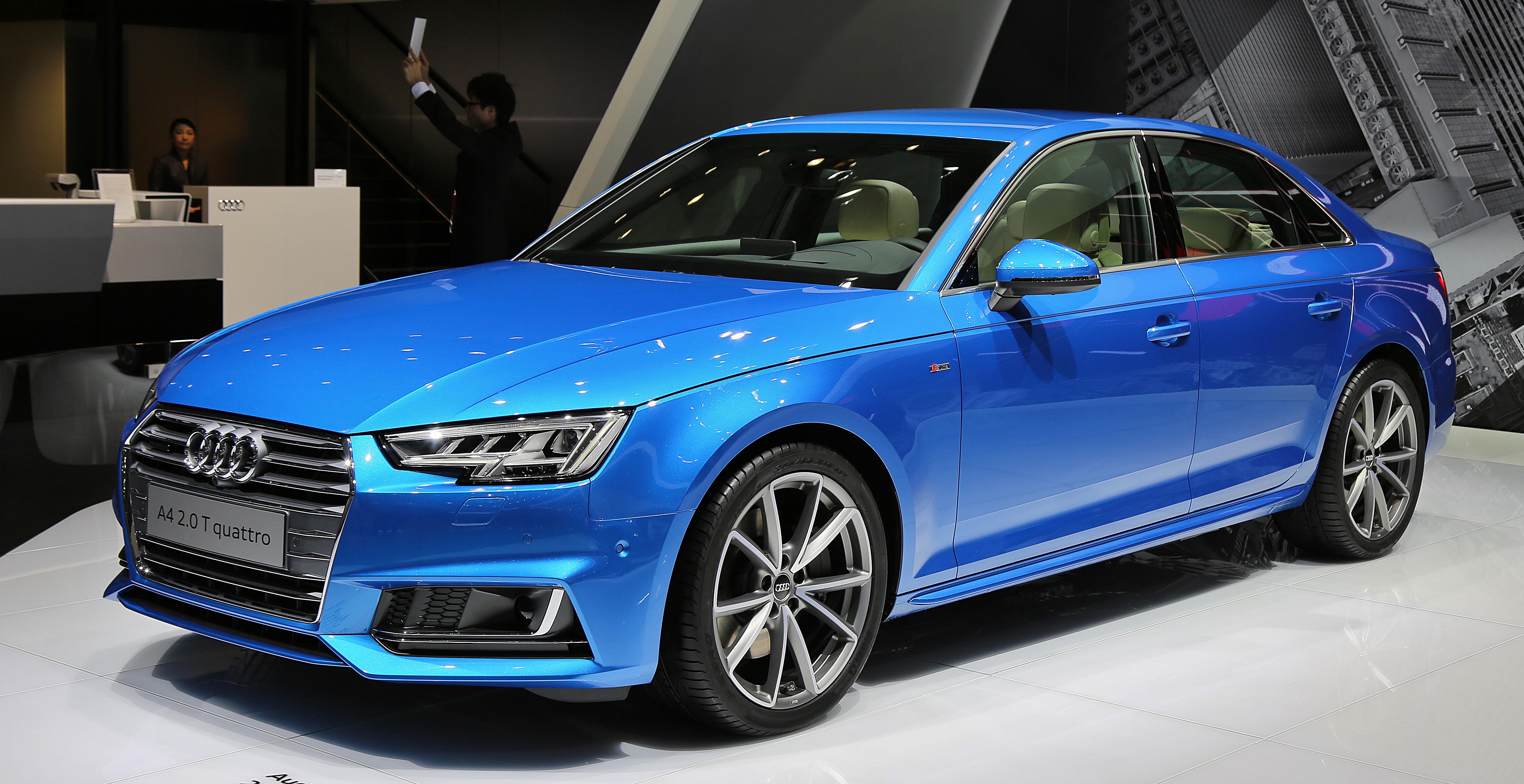 High Resolution Wallpaper | Audi A4 4855x2499 px