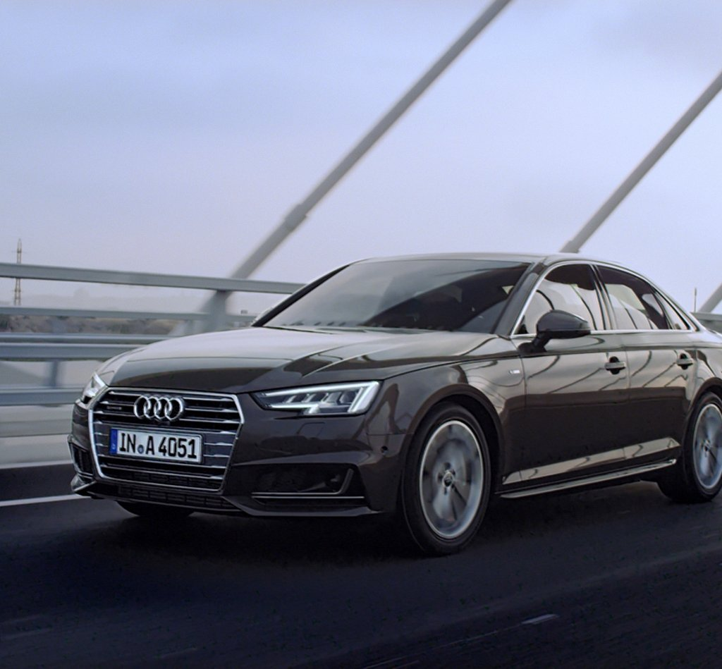 HD Quality Wallpaper | Collection: Vehicles, 1024x949 Audi A4