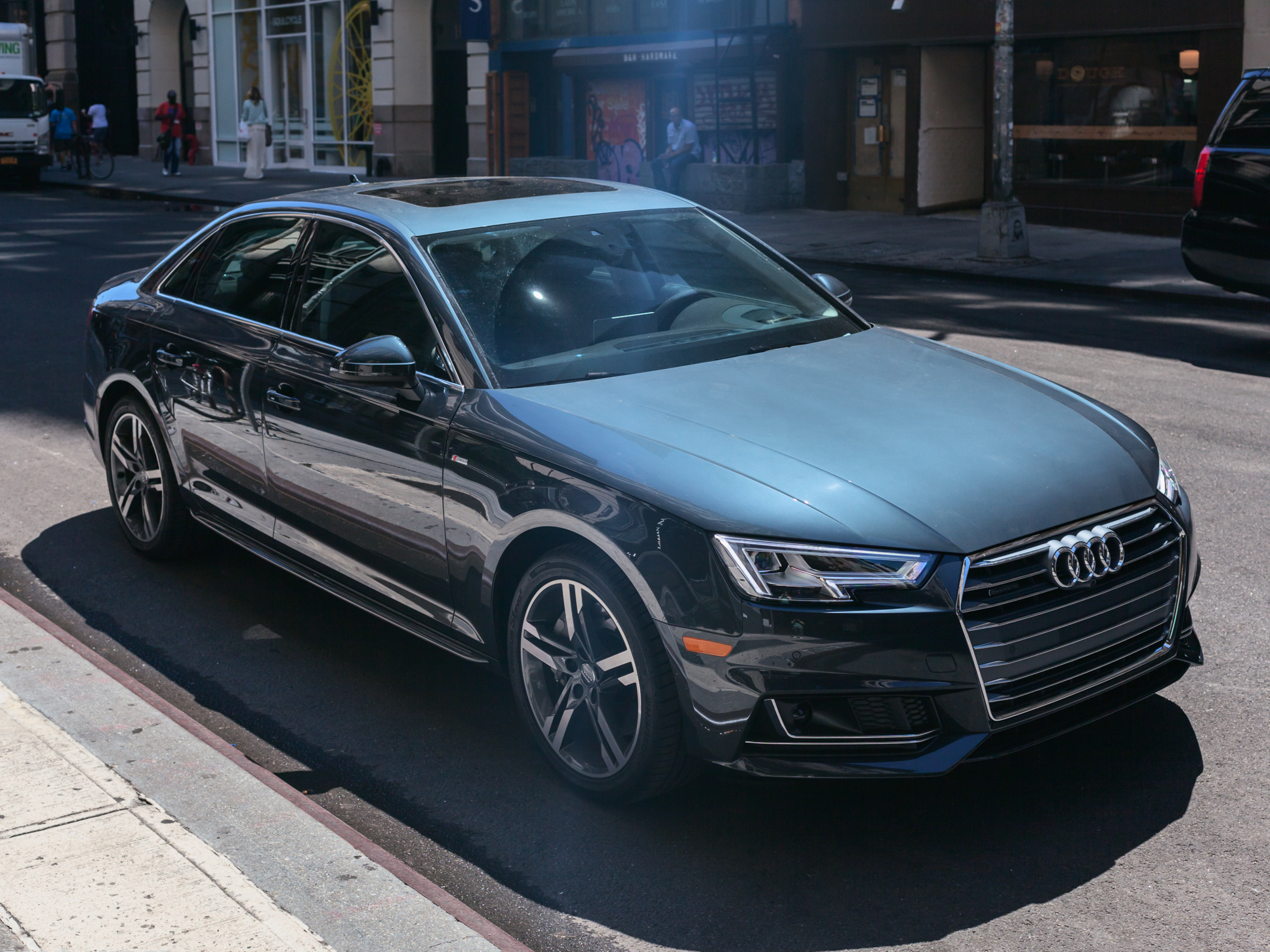 Nice wallpapers Audi A4 1936x1452px