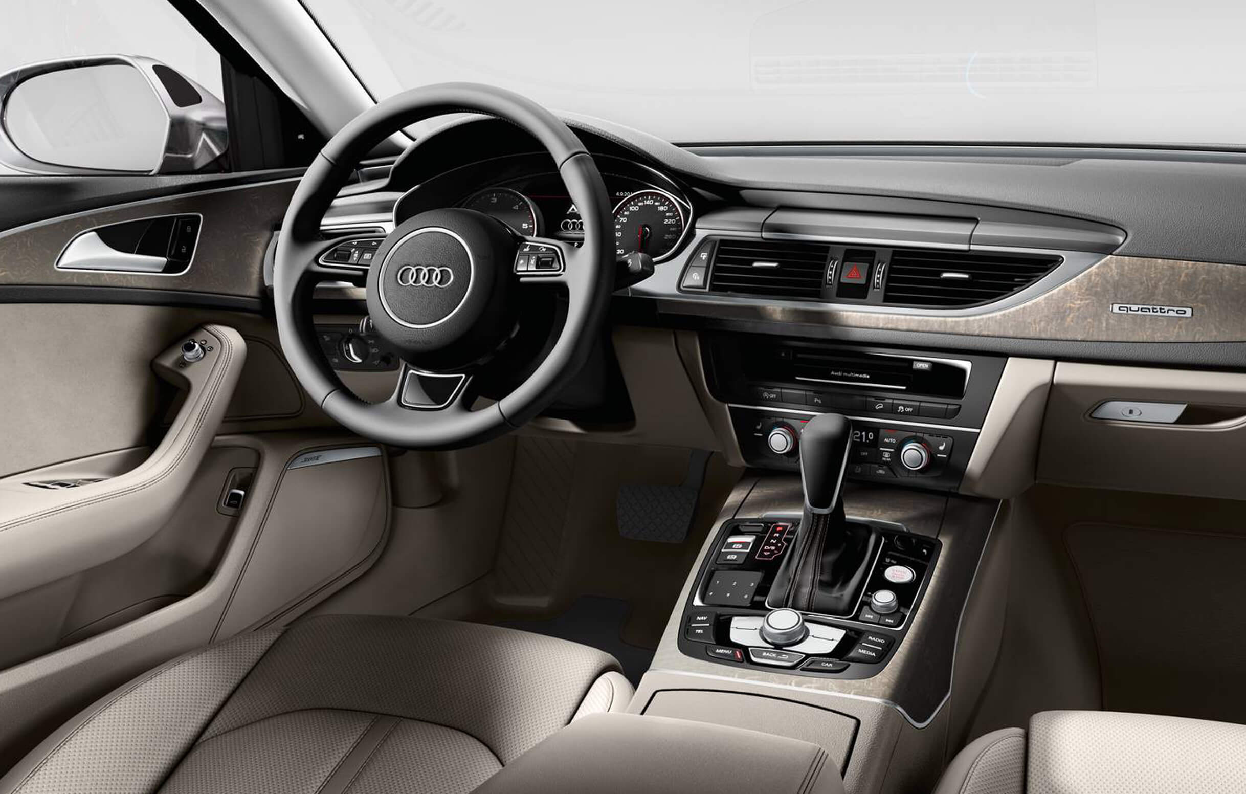 HD Quality Wallpaper | Collection: Vehicles, 2436x1552 Audi A6