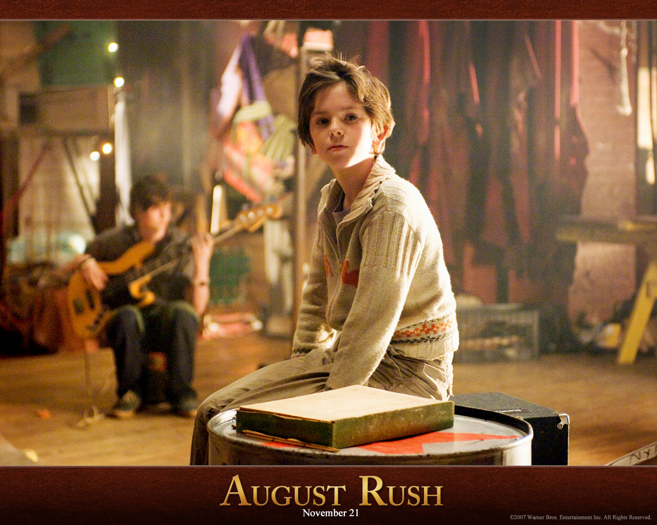August Rush Backgrounds on Wallpapers Vista