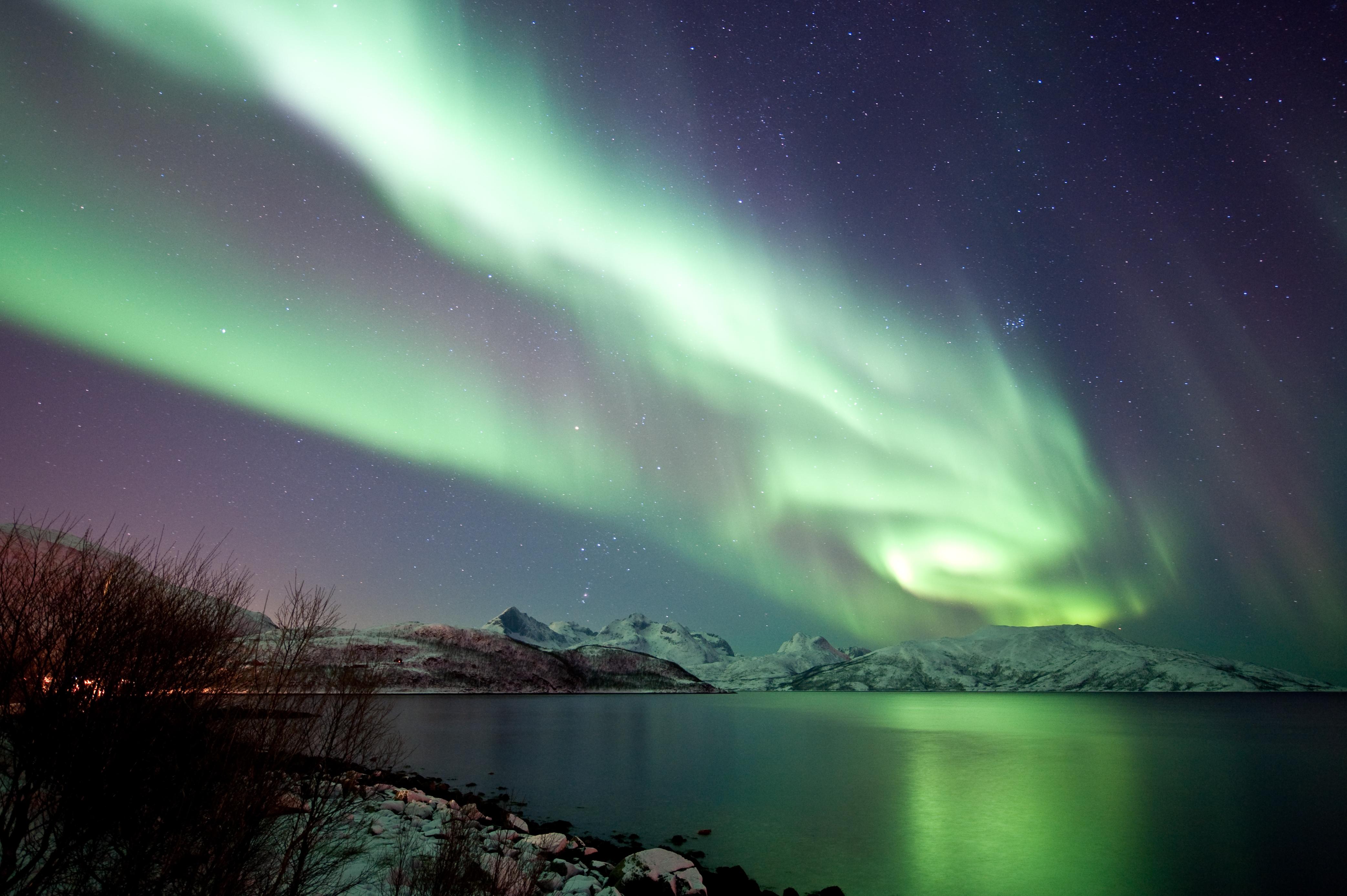 Aurora Borealis Backgrounds, Compatible - PC, Mobile, Gadgets  4170x2775 px