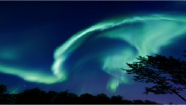 Nice Images Collection: Aurora Borealis Desktop Wallpapers