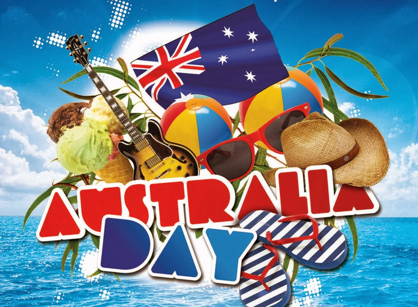 Nice wallpapers Australia Day 1600x1175px