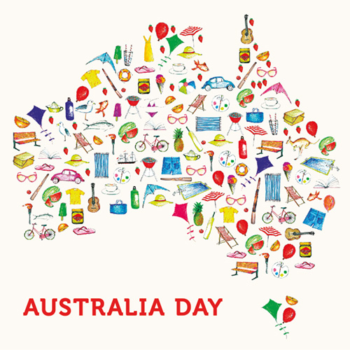 HD Quality Wallpaper | Collection: Holiday, 500x500 Australia Day