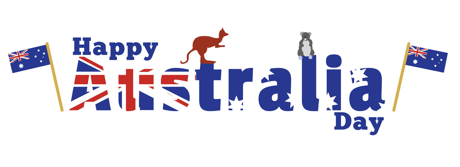 Australia Day Backgrounds, Compatible - PC, Mobile, Gadgets| 1600x582 px