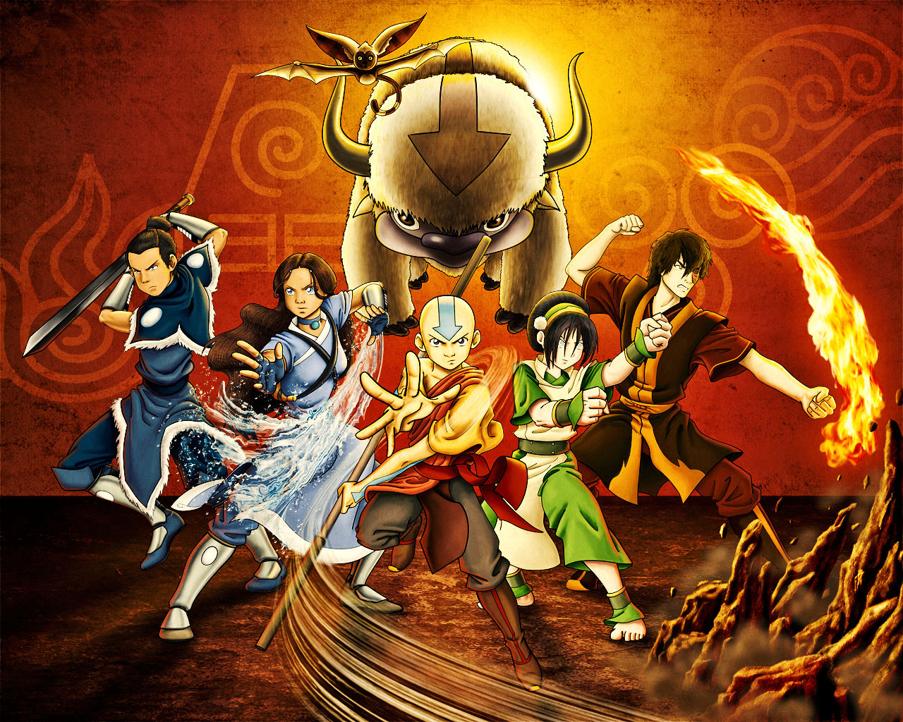 Avatar The Last Airbender Wallpapers Anime Hq Avatar The Last