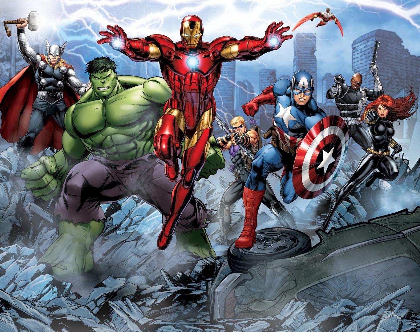 Avengers Assemble Wallpapers Comics Hq Avengers Assemble Pictures