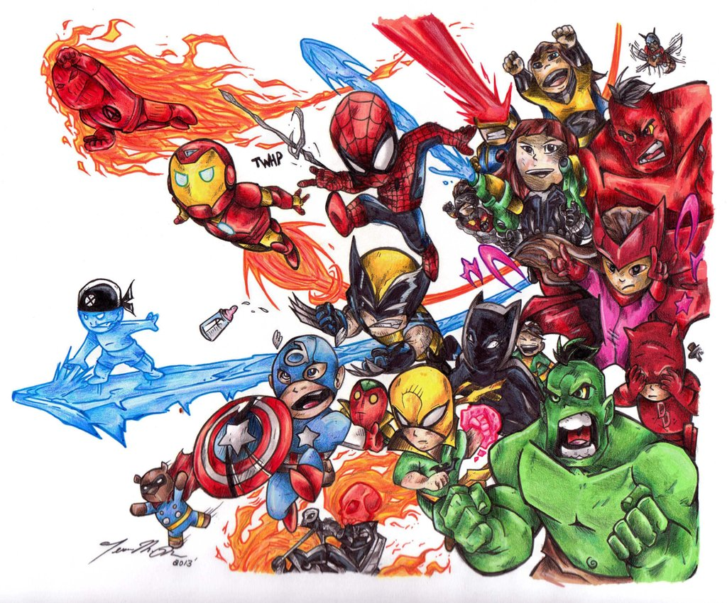 Baby Avengers Wallpapers Comics Hq Baby Avengers Pictures 4k Wallpapers 2019