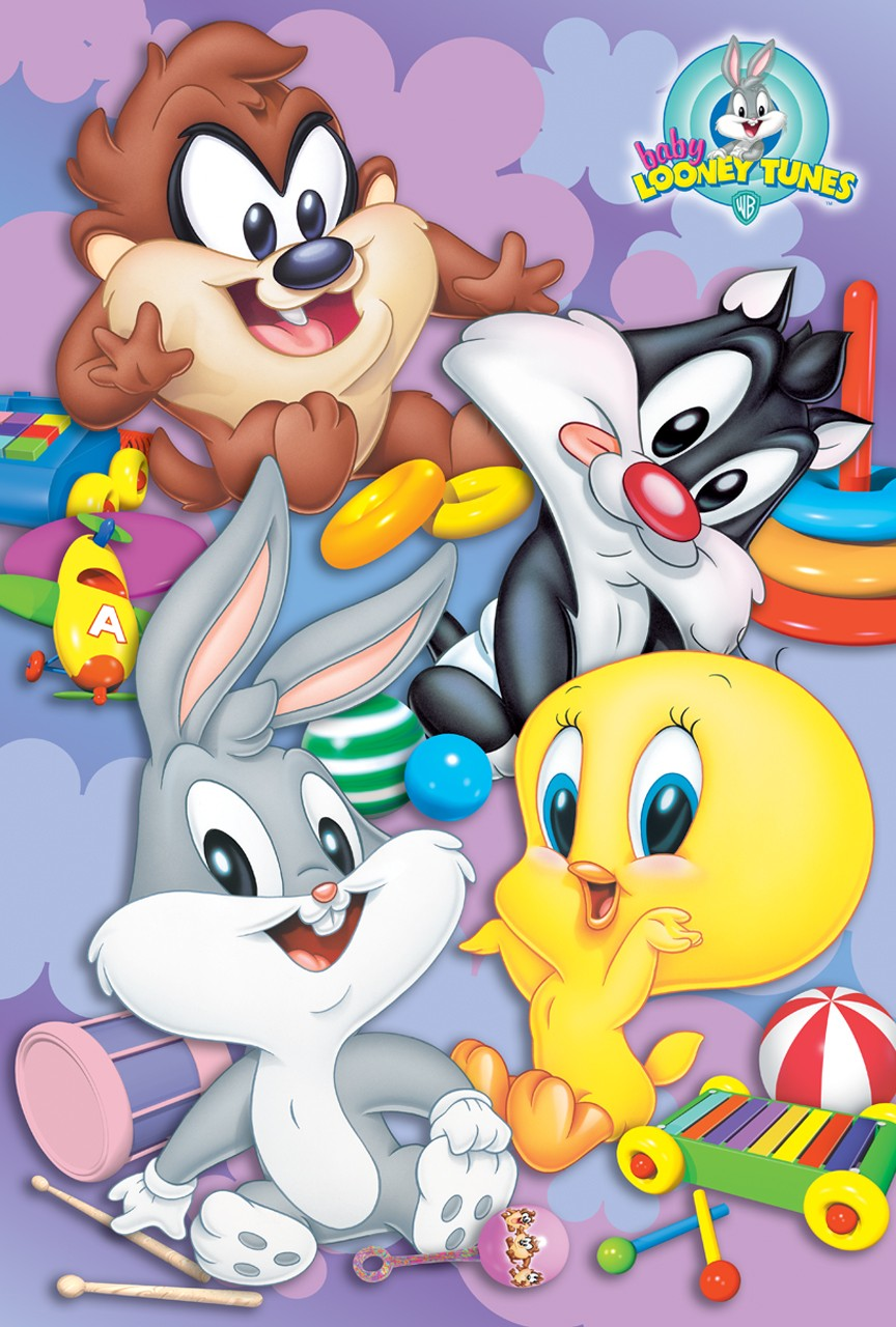 HD Quality Wallpaper | Collection: Cartoon, 864x1280 Baby Looney Tunes