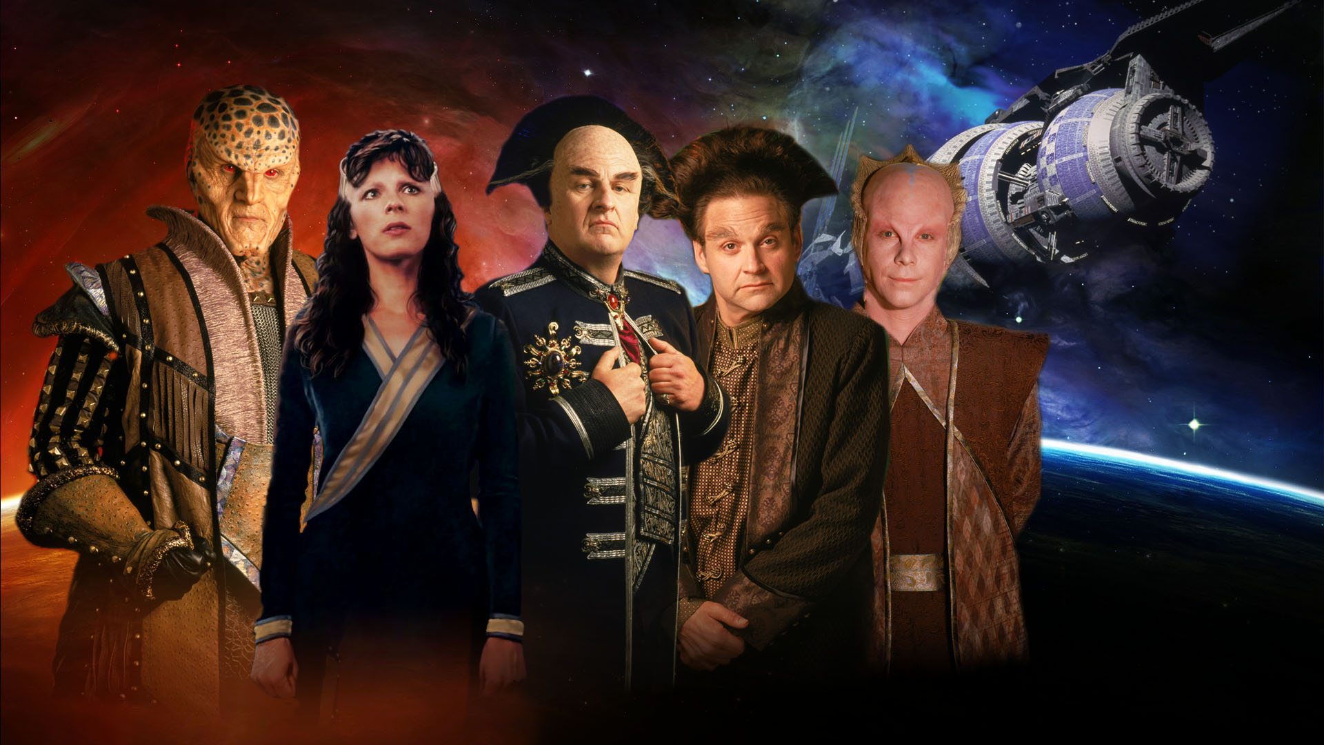 Nice Images Collection: Babylon 5 Desktop Wallpapers
