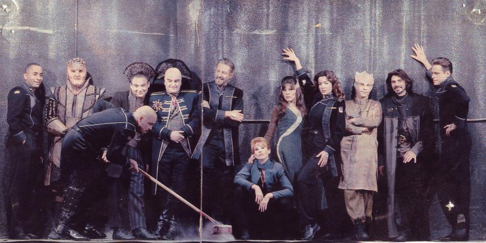 Babylon 5 Backgrounds, Compatible - PC, Mobile, Gadgets| 960x480 px