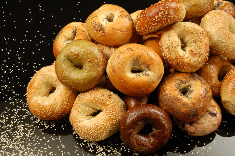 HD Quality Wallpaper | Collection: Food, 800x532 Bagel