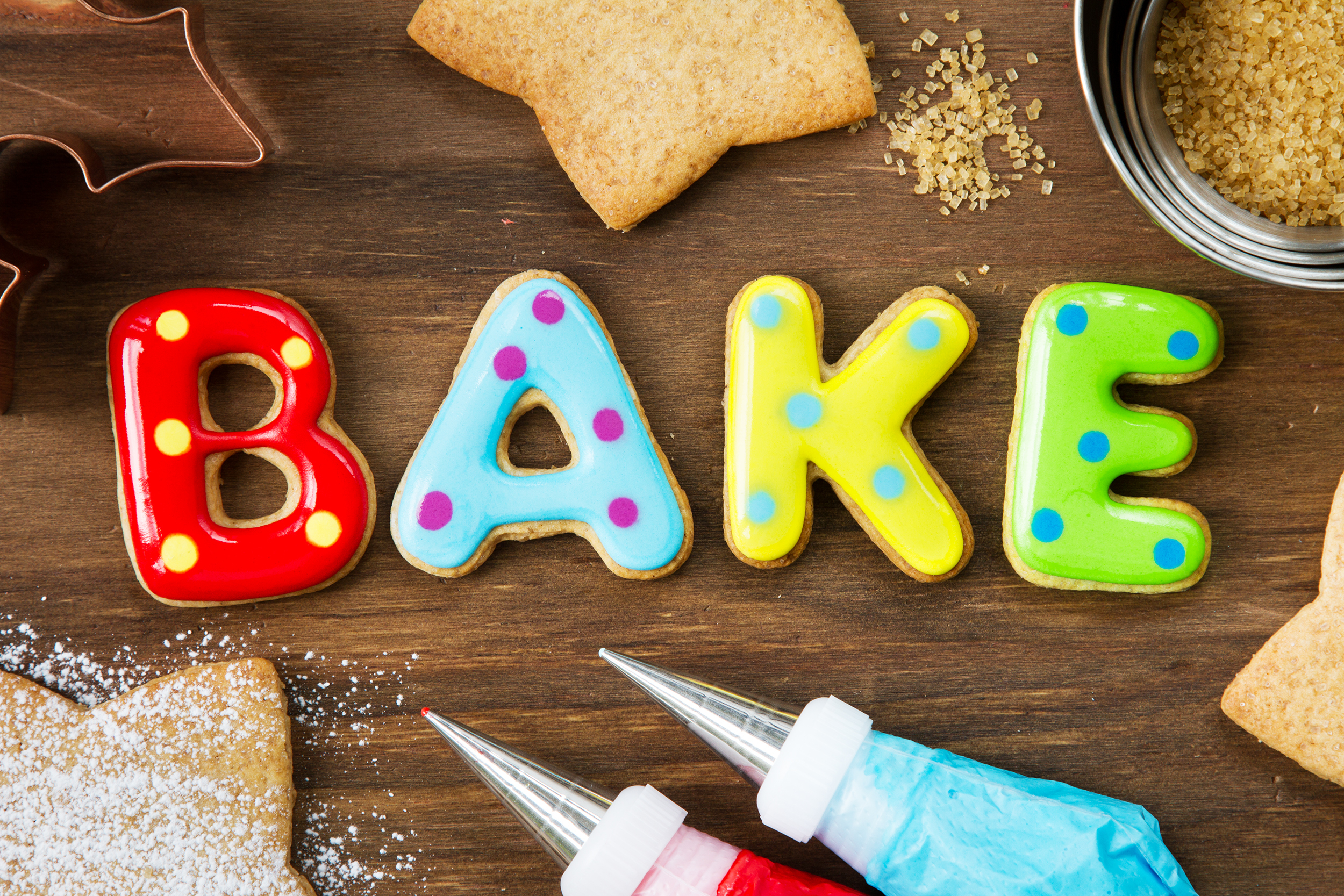 Baking Backgrounds on Wallpapers Vista