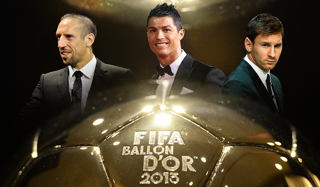HD Quality Wallpaper | Collection: Sports, 1024x600 Ballon D'Or 2014