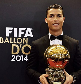HD Quality Wallpaper | Collection: Sports, 260x270 Ballon D'Or 2014