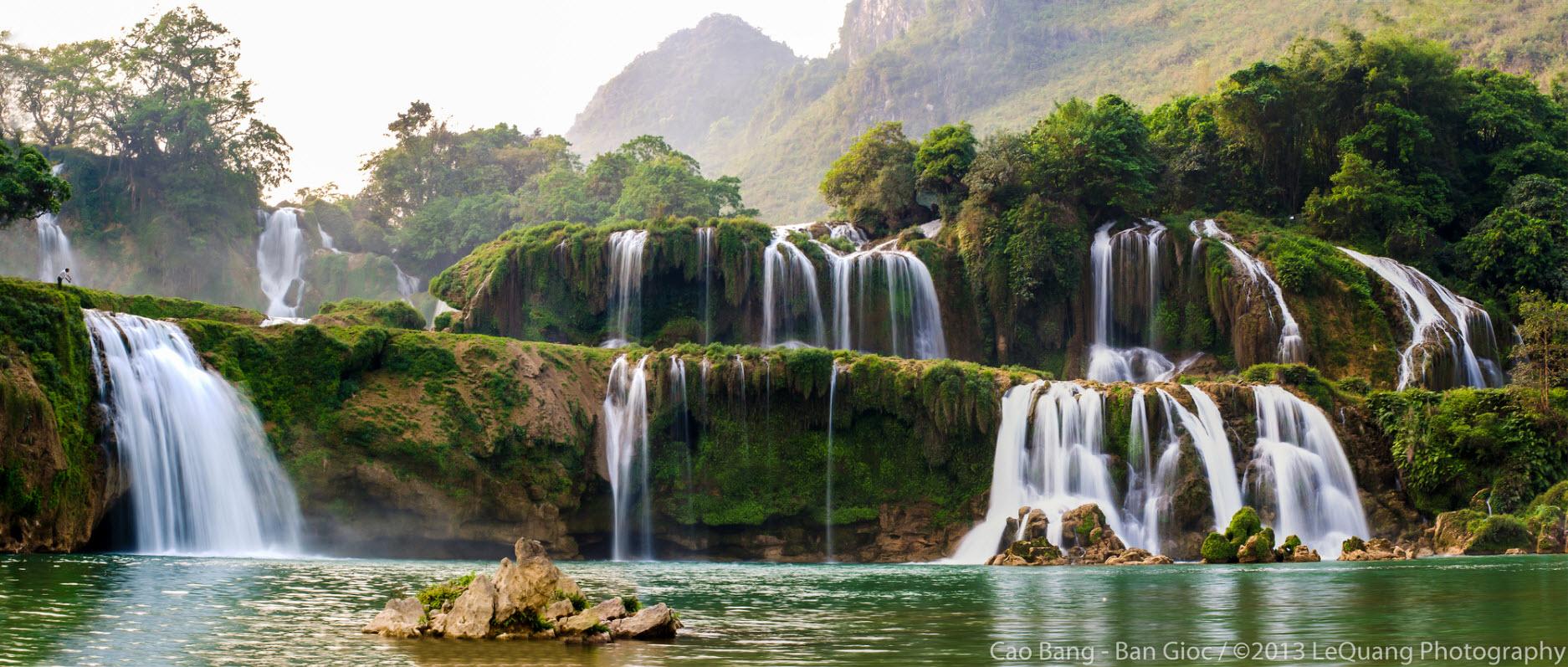 Nice wallpapers Ban Gioc–Detian Falls 1874x797px