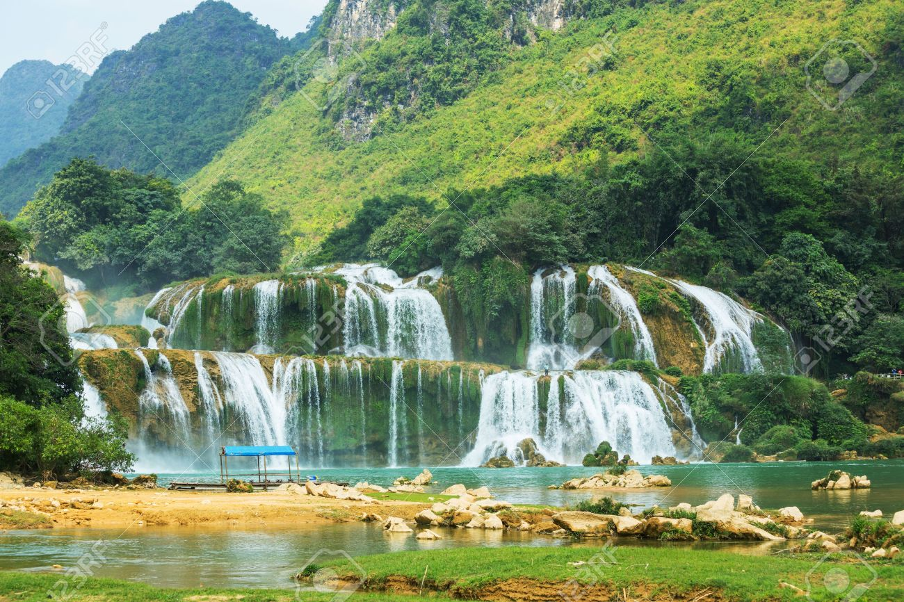 Ban Gioc–Detian Falls High Quality Background on Wallpapers Vista