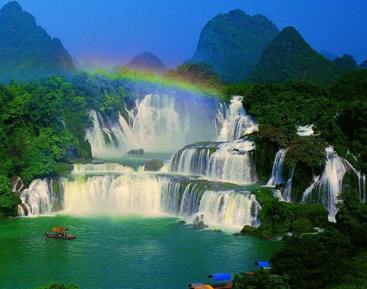 Ban Gioc–Detian Falls Backgrounds, Compatible - PC, Mobile, Gadgets| 756x594 px