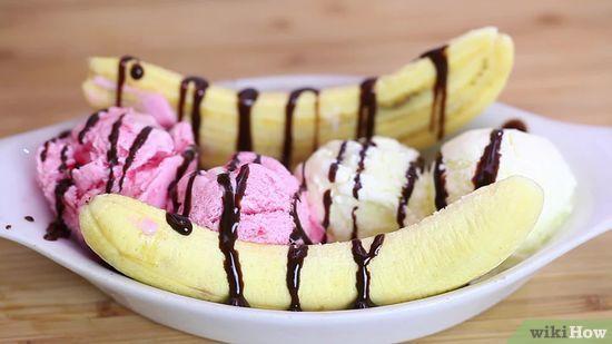 Banana Split Pics, Food Collection