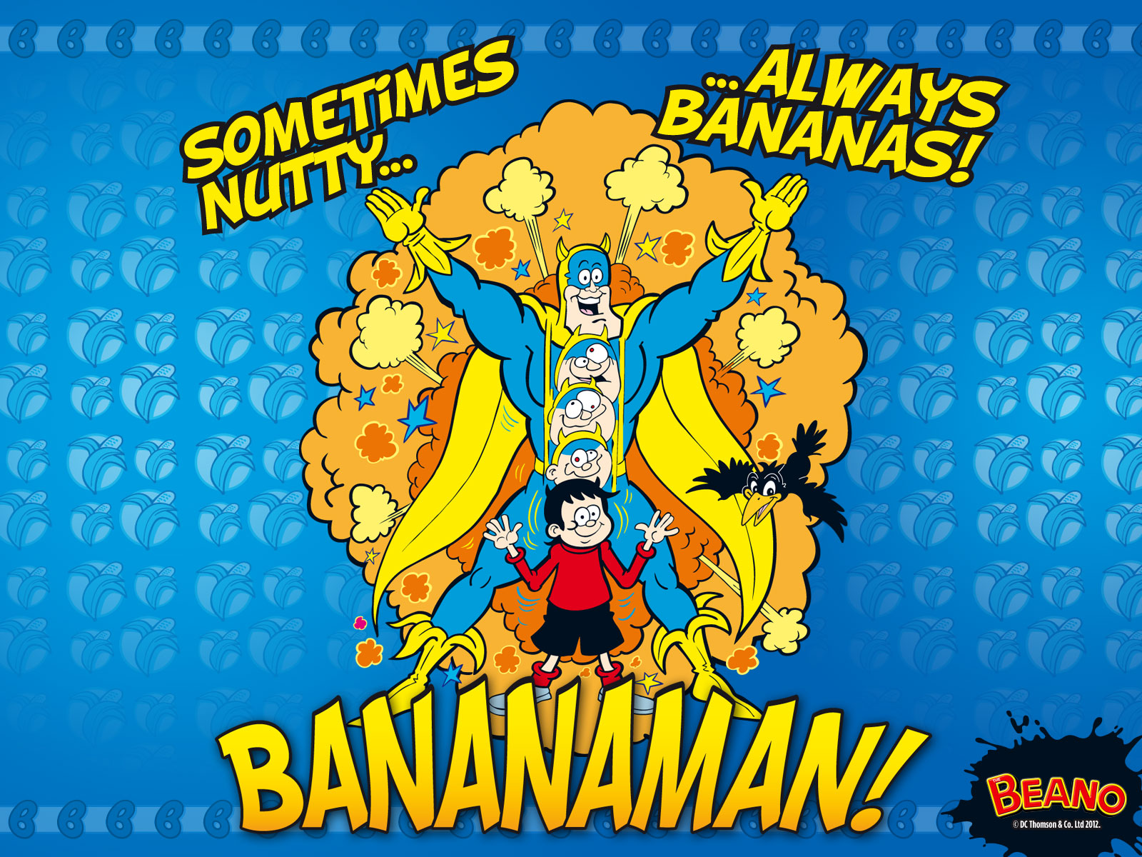 HQ Bananaman Wallpapers | File 509.55Kb