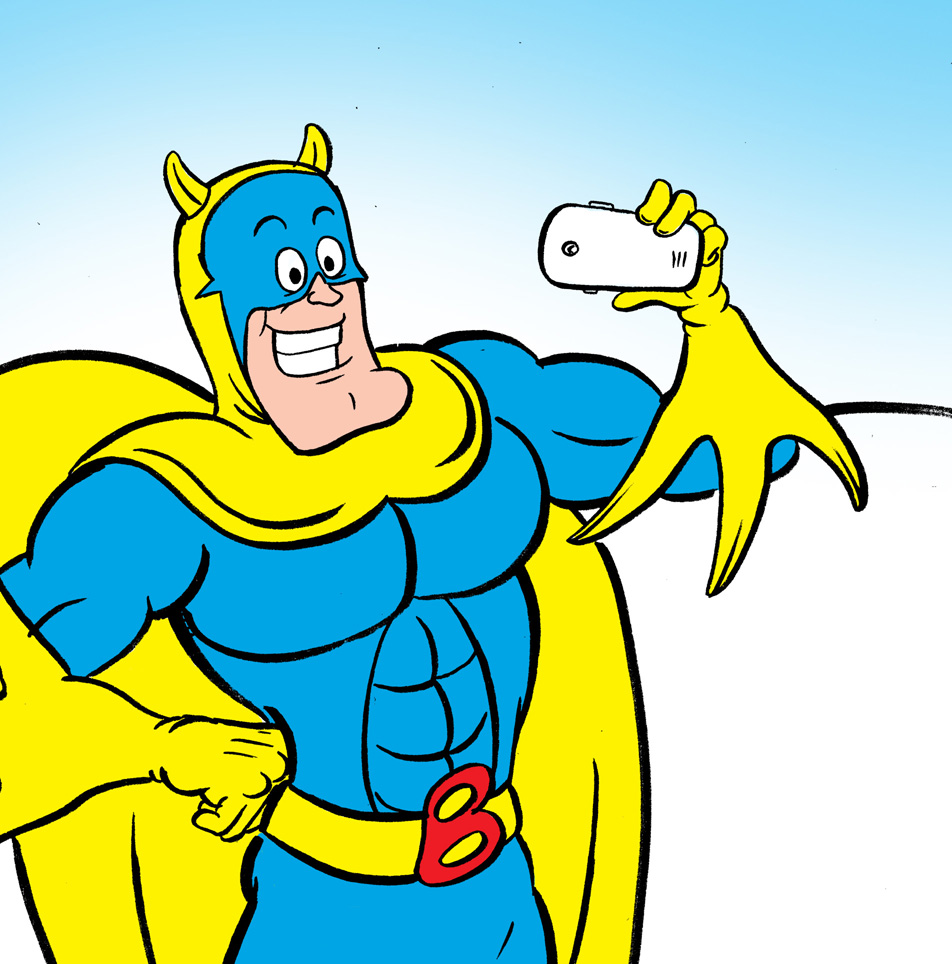 High Resolution Wallpaper | Bananaman 952x964 px