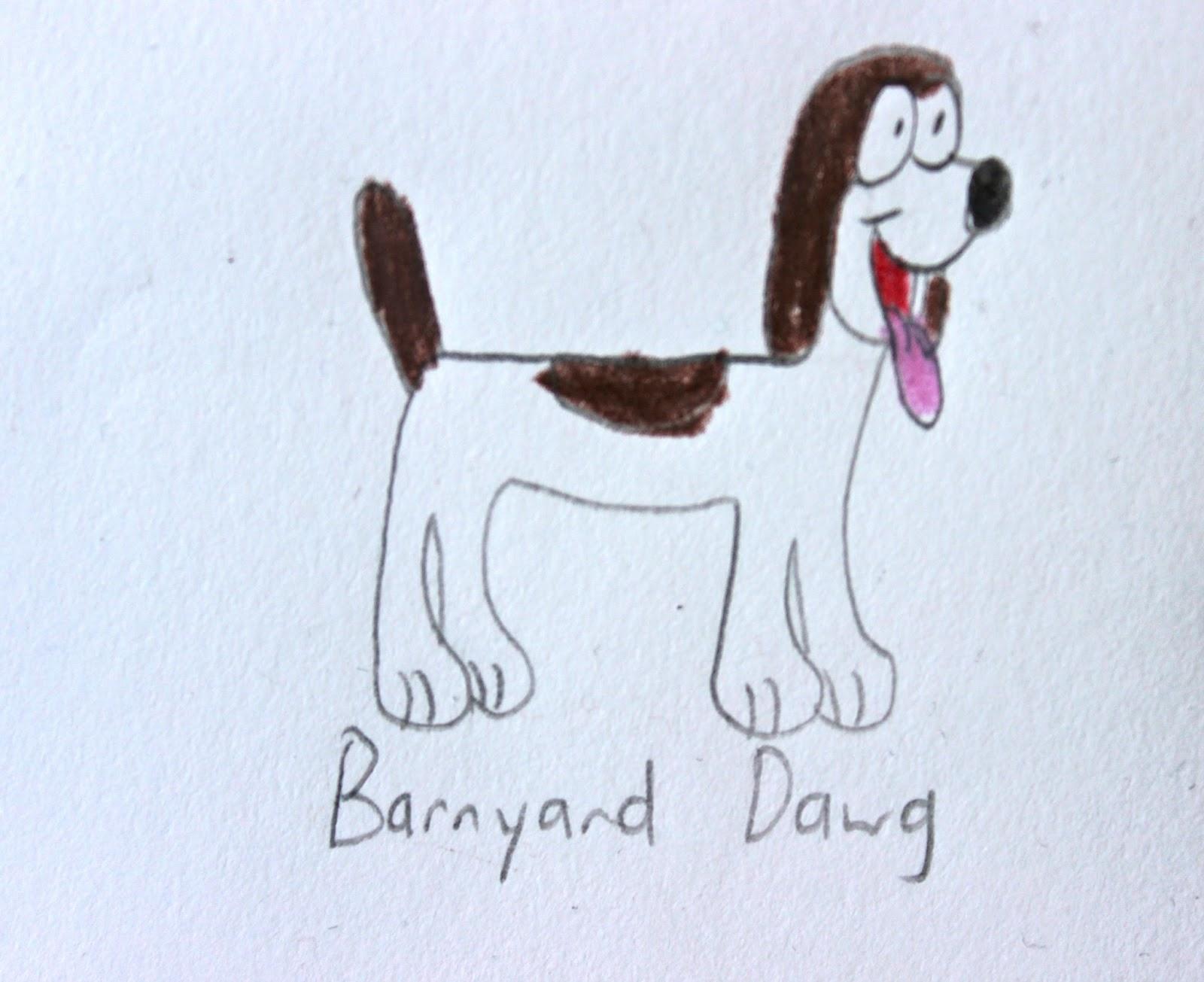 HD Quality Wallpaper   Collection: Cartoon, 1600x1305 Barnyard Dawg