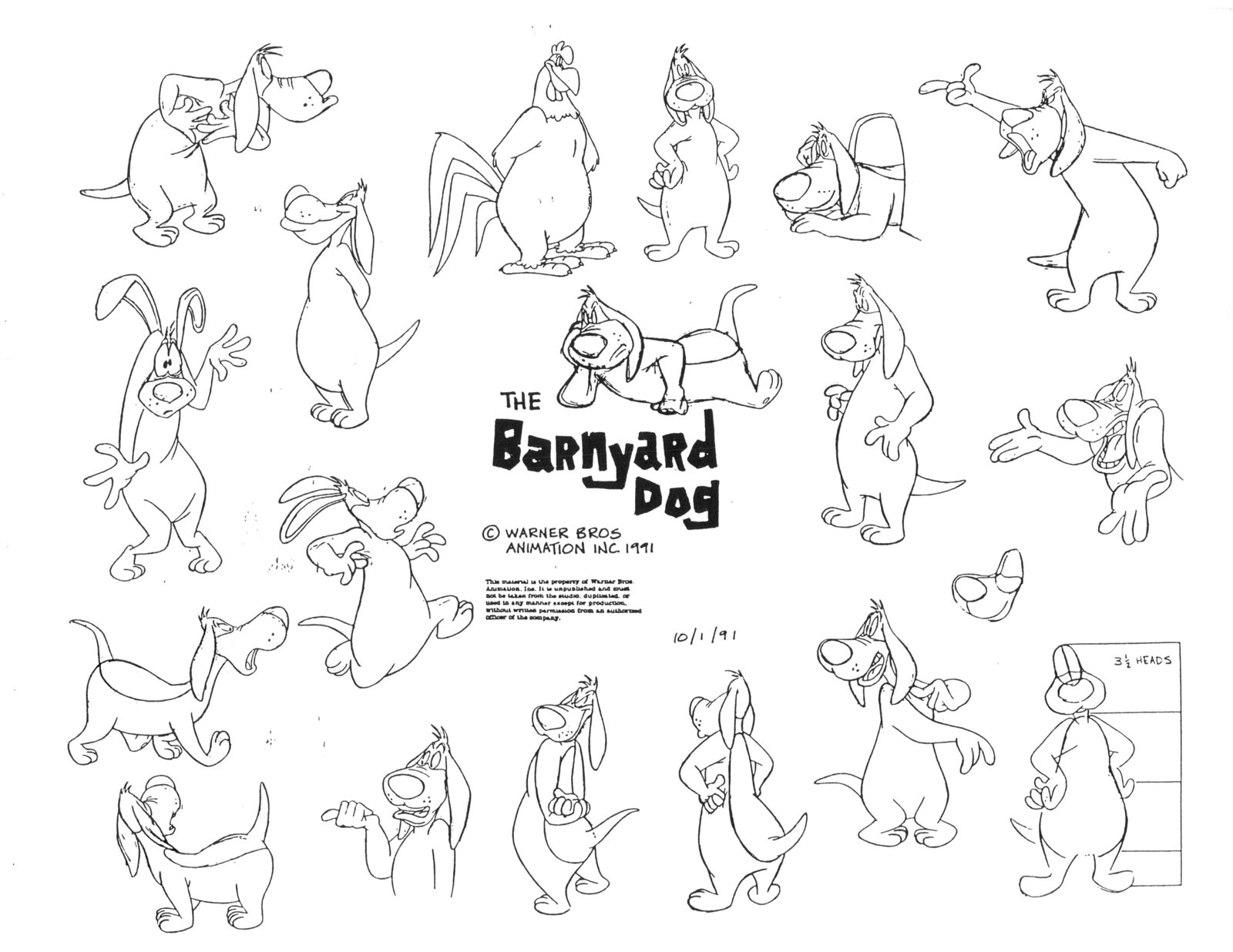 HD Quality Wallpaper   Collection: Cartoon, 1600x1236 Barnyard Dawg
