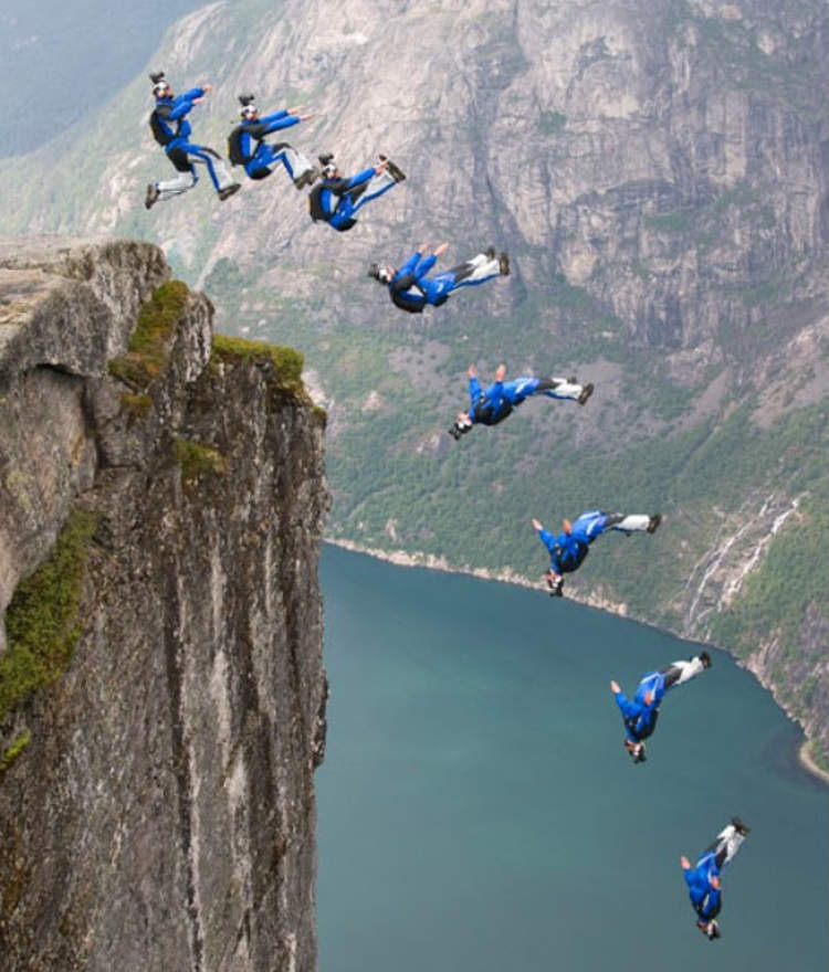 Nice wallpapers Base Jumping 750x880px