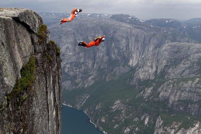 HQ Base Jumping Wallpapers | File 103.22Kb
