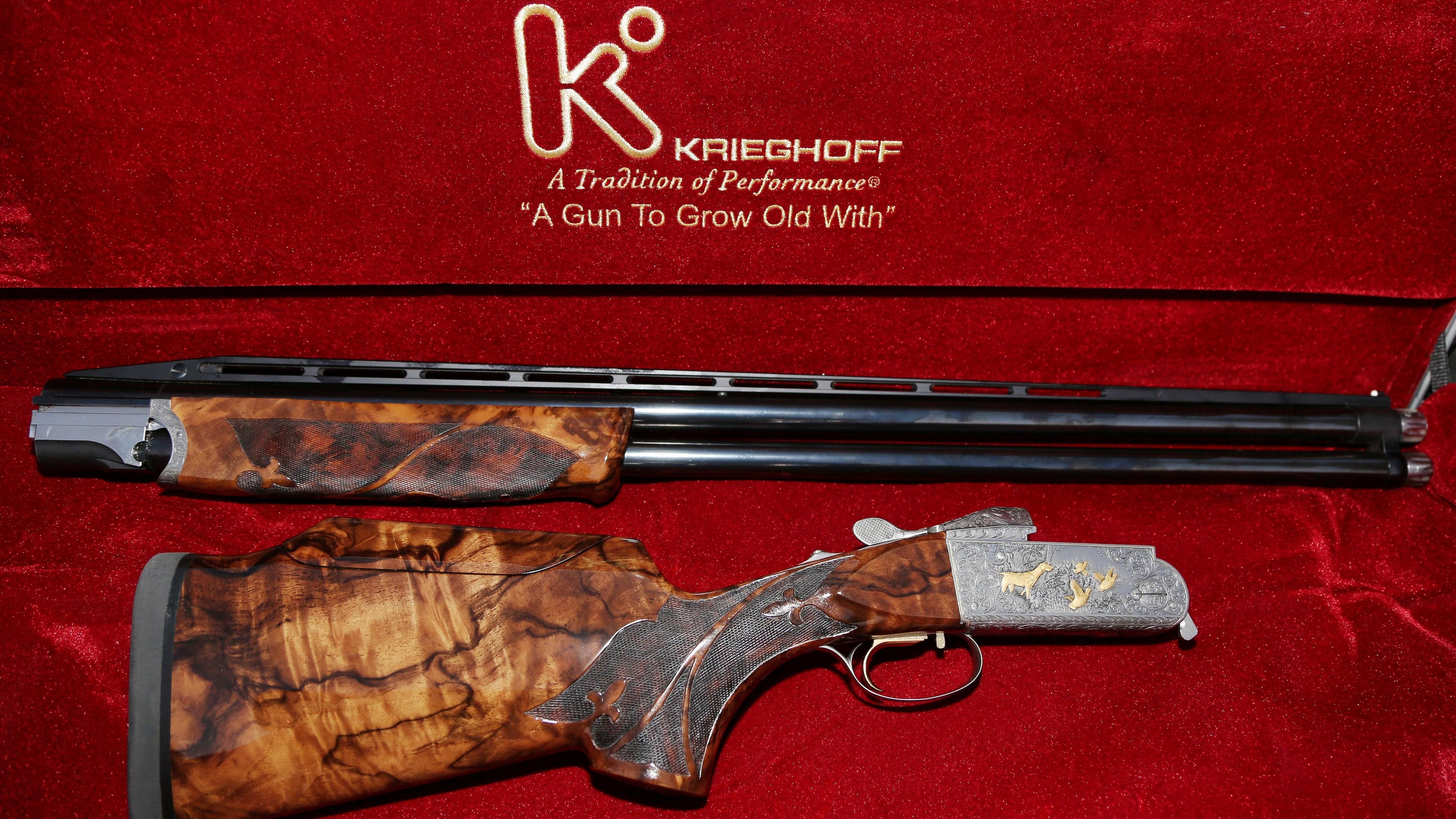HD Quality Wallpaper | Collection: Weapons, 5650x3178 Baserri Shotgun