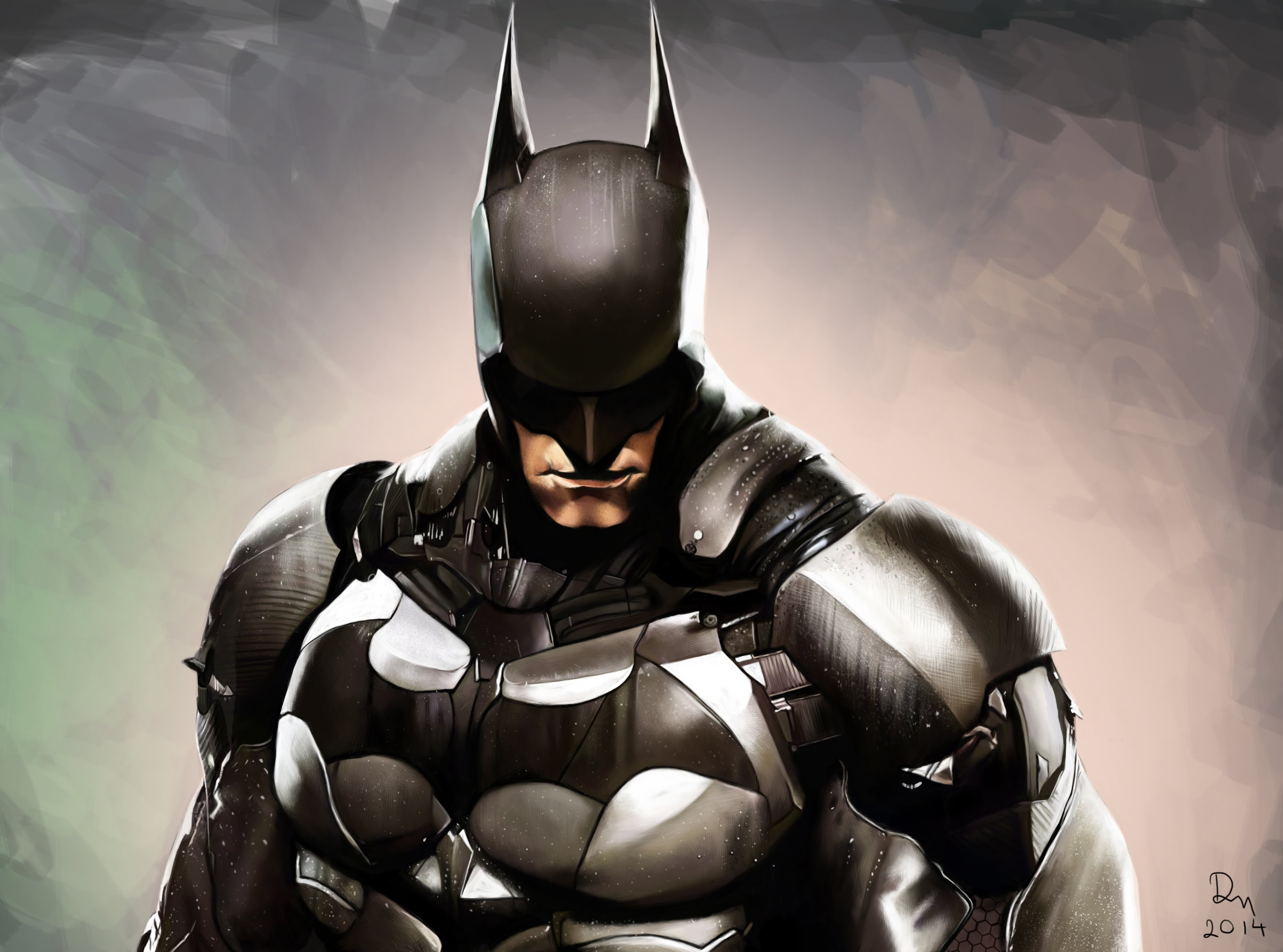Nice wallpapers Batman 3000x2226px