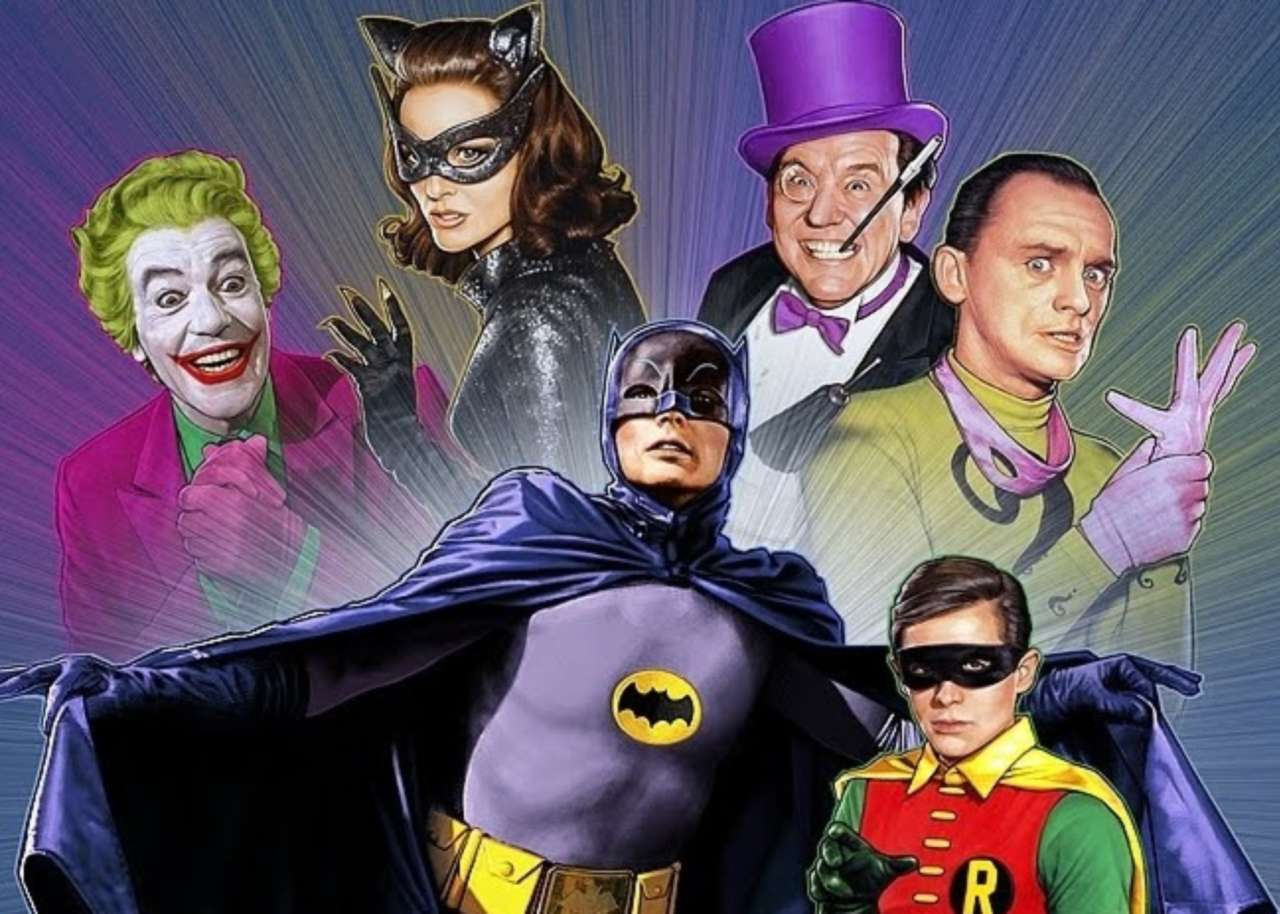 HD Quality Wallpaper | Collection: Comics, 1280x914 Batman '66