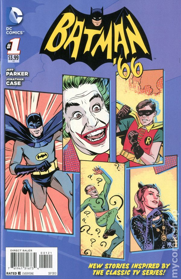 Batman '66 Pics, Comics Collection