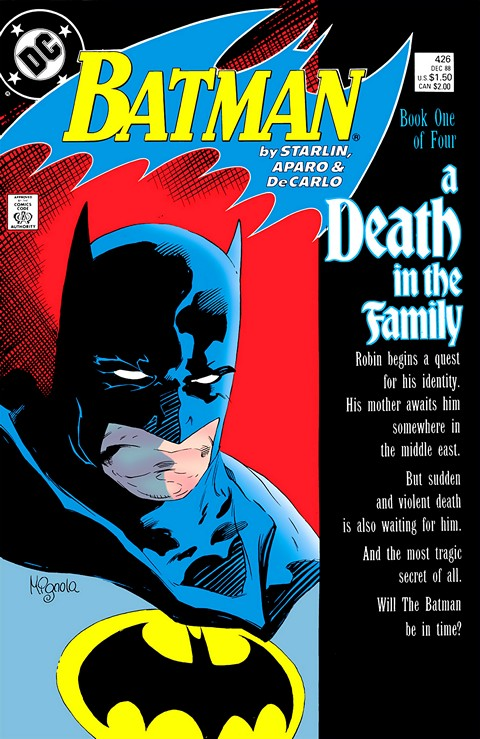 Batman: A Death In The Family Pics, Comics Collection
